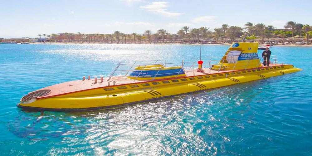 Sindbad Submarine trip from Hurghada